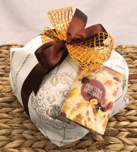 panettone artigianale albicocca e cioccolato - il frutto