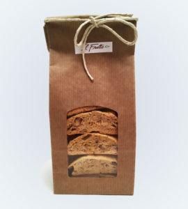 biscottato alle noci - packaging frontale