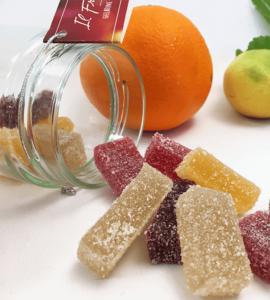 gelatine alla frutta - il frutto