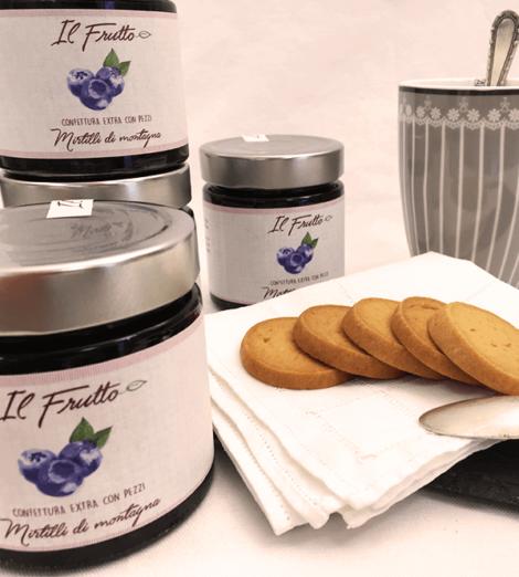confettura extra di mirtilli - il frutto